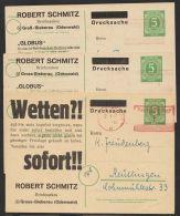"""Mi-Nr. P950, 3 Versch. Zudruckkarten """"Schmitz, Groß-Bieberau"""" Angebot 15,16, Und 25, Alle Badarf, O - Gemeinschaftsausgaben"""