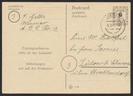 "Mi-Nr. P 792 IIa, Bedarf ""Wismar"", 6.9.45, O - Bizone"
