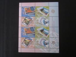 Mazedonien Kleinbogen Nr. 370 - 373 Postfrisch** / MNH - Macédoine