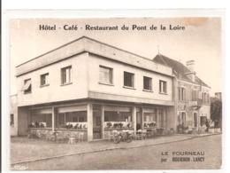 71 - BOURBON LANCY - Hôtel Café Restaurant Du Pont De La Loire. - Francia