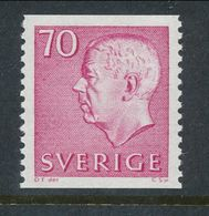 Sweden 1967 Facit # 436,  Gustaf VI Adolf, Type III, MNH(**) - Nuevos