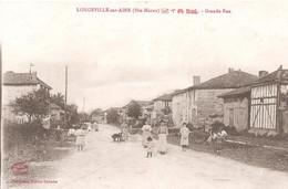 LONGEVILLE Sur AINE - Grande Rue Animée - Andere Gemeenten