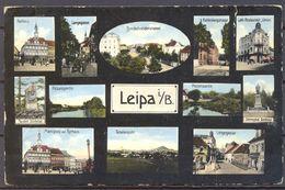 1916 , REPÚBLICA CHECA , LEIPA , CIRCULADA , CENSURA - República Checa