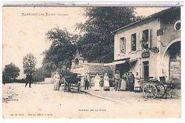 88  MARTIGNY  LES  BAINS  AVENUE  DE LA GARE +  HOTEL  ET ATTELAGE TBE  1S390 - France