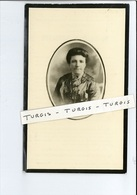 ROSALIA M VERSLYPE WED HECTOR A NORRE ° LOMBARDSIJDE ( MIDDELKERKE ) 1880 + 1951 - Images Religieuses