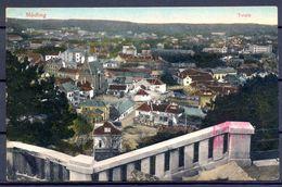 1916 , AUSTRIA , TARJETA POSTAL CIRCULADA , MÖDLING , CENSURA - Mödling