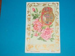 Illustrateur ) Les Bijoux Modernes ( Boucle )  Art Nouveaux - Style Mucha - Sans Signature  - Année : EDIT : - Illustrateurs & Photographes