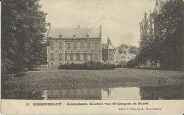 Herenthout    -   Achterkant,  Kasteel Van Reijnegom De Buzet   -   1906 - Herenthout