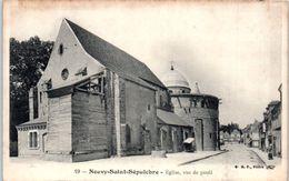 36 - NEUVY SAINT SEPULCRE -- Eglise Vue De Profil - France