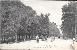 CHAUMONT - Le Boulevard Gambetta Et Les Promenades. - Chaumont
