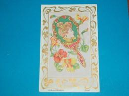 Illustrateur ) Les Bijoux Modernes ( Ecran  )  Art Nouveaux - Style Mucha - Sans Signature  - Année : EDIT : - Illustrateurs & Photographes
