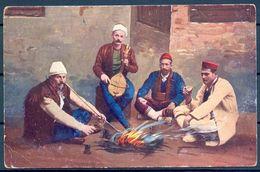 "BOSNIA HERZEGOVINA , 1916 , TARJETA POSTAL CIRCULADA , "" GRÜSS AUS BOSNIEN UND HERCEGOVIA "" , CENSURA - Bosnia Y Herzegovina"
