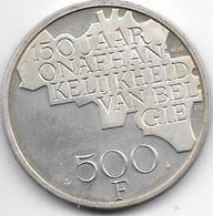 Belguim 500 Francs 1980 Dutch Silver   Edition  Km 162a - 1951-1993: Baudouin I