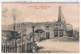 88  ETIVAL  LE  VIVIER   LAGUERRE  DANS  LES VOSGES  1914-1915      TBE  1V190 - Etival Clairefontaine
