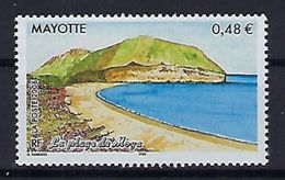 "Mayotte YT 187 "" La Plage De Moya "" 2006 Neuf** - Mayotte (1892-2011)"