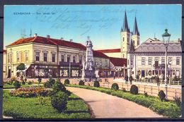 1915 , HUNGRIA , TARJETA POSTAL CIRCULADA , FELDPOST , CENSURA , SZABADKA - Hungría