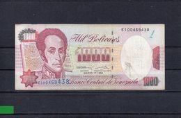 VENEZUELA 1994, 1000 BOLIVARES, P-76a, CIRCULADO, 2 ESCANER - Venezuela