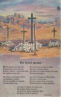Litho AK Kolonialkriegerdank Die Fernen Gräber Soldatengräber Kolonie Deutsch Südwestafrika Deutsch Süd West DSW Namibia - Namibia