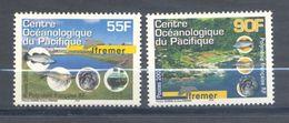 Polynésie Française, Yvert 674&675, Scott 834&835, MNH - Ongebruikt