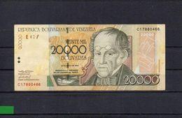 VENEZUELA 2004, 20000 BOLIVARES, P-86c, CIRCULADO, 2 ESCANER - Venezuela