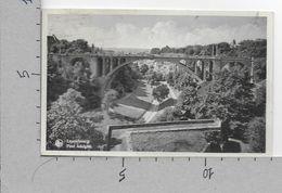 CARTOLINA VG LUSSEMBURGO - LUXEMBOURG - Pont Adolphe - 9 X 14 - ANN. 1951 - Lussemburgo - Città