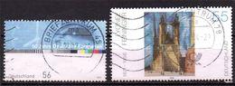 Lot 2 Timbre(s) - N° 2116 - 2122   Oblitéré -sujet Divers     -  Allemagne - [7] République Fédérale