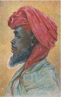 Litho AK Kolonialkriegerdank Araber Ostafrika Deutsche Kolonie Schutzgebiet Deutsch DOA Ruanda Burundi Tansania Tanzanie - Ruanda-Urundi