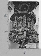 CARTOLINA NV PERU - CUZCO - Iglesia De San Blas - Parte Inferior Del Pulpito - 9 X 14 - Perù