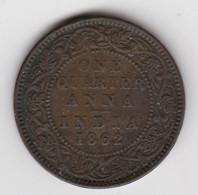 @Y@    Brits India   1/4 Anna   1862    (2281) - Inde