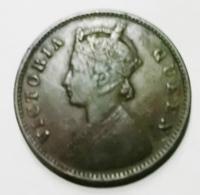 @Y@    Brits India   1/4 Anna   1862    (2062) - Inde