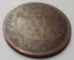 @Y@    Brits India   1/4 Anna   1896    (2176) - Inde