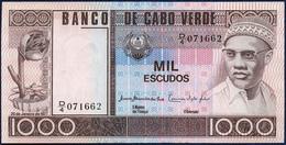 CAPE VERDE CABO VERDE 1000 ESCUDOS P-56 1977 UNC - Cape Verde
