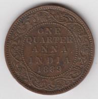 @Y@    Brits India   1/4 Anna   1889    (2348) - Inde
