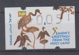 ISRAEL 1998 SIMA ATM CHRISTMAS SEASON'S GREETINGS FROM THE HOLY LAND NUMBER 023 - Franking Labels