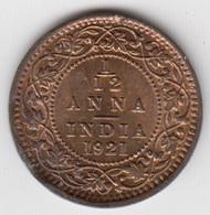 @Y@    Brits India   1/12 Anna   1921  Unc    (2055) - Inde