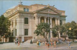 Moldova - Postcard Unused  1970 - Chisinau - Pushkin Moldovian Theatre Of Musical Drama - Moldova