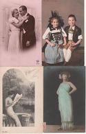 Lot De 10 Cartes Fantaisies - 5 - 99 Postcards