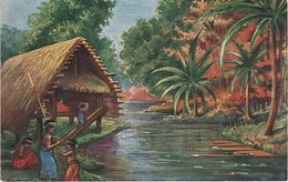 Litho AK Kolonialkriegerdank Neumecklenburg Neu Mecklenburg Südsee Deutsche Kolonie Schutzgebiet Deutsch Papua Neuguinea - Papua New Guinea