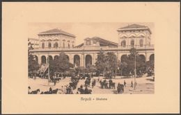 Stazione, Napoli, Italia, C.1910 - Zedda Cartolina - Napoli (Naples)