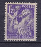 France 1944 Mi. 661    1.20 Fr Iris MNH** - 1939-44 Iris