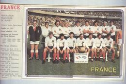FRANCE 1975..FRANCAISE.....RUGBY....SPORT - Rugby