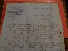 27.01.18-  Sur N°22 Pour Planchage , LAC De  Paris,bl Beaumarchais - 1862 Napoleon III