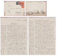 Deutsches Reich 8 Pf. Altona Hamburg  Briefmarke Antwerpen Ivonne Van Eyndonck Berchem Brief Sendschreiben 1937 - Deutschland