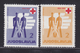 YOUGOSLAVIE BIENFAISANCE N°   37 & 38 ** MNH Neufs Sans Charnière, TB (D4788) Croix Rouge - Beneficiencia (Sellos De)