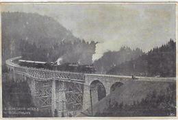 Solothurn-Münster-Bahn - Belastungszug - Stempel Der Eröffnungsfeier - 1908     (P-104-61004) - Trains