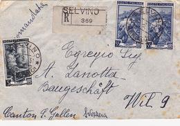 Brief Von Selvino In Die Schweiz (br2632) - 6. 1946-.. Republic