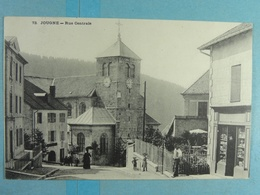 Jougne Rue Centrale - France