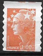 France 2008 Timbre Adhésif N°215 Oblitéré Marianne De Beaujard - Adhésifs (autocollants)