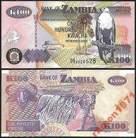 Zambia - 100 Kwacha 2010 UNC - Zambie