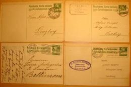 Postkarte 10c Grün Mit Angehefteter Bestell-Bestätigung An Firma Zweifel, Malaga-Kellerei, Lenzburg - Vins & Alcools
